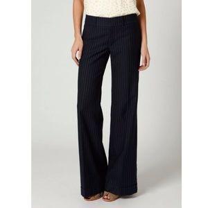 Anthropologie Cartonnier Pinstripe Wideleg Trouser
